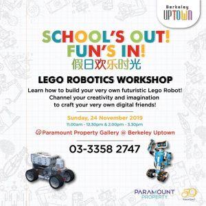 Lego Robotics Workshop @ Berkeley Uptown