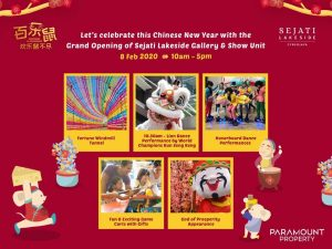 Grand Opening of Sejati Lakeside Gallery and Show Unit