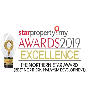 THE NORTHERN STAR AWARD (BEST NORTHERN MALAYSIA DEVELOPMENT)