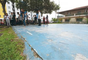 Sayangi Rumahku: PPR Seri Cempaka's sports court all set for a makeover